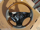 Rover 75 MG ZT Light Oak and Smokestone Leather Steering Wheel