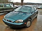 1997 Mercury Sable Gs 1997 Mercury Sable Gs 207058 Miles Green Car  4-speed Automatic