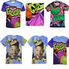 2016 New The Fresh Prince of Bel-Air 3D Casual Short Sleeve T-shirt