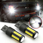 2x 3000K Amber 1157 7528 127-SMD LED For Car Front Rear Turn Signal Light Bulbs