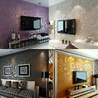 3D Modern Luxury Abstract Curve Wallpaper Roll Mural Flocking Wallpaper Roll