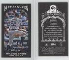 2011 Topps Gypsy Queen Mini Black Border #263 Johnny Damon Tampa Bay Rays Card