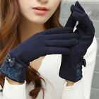 Fashion Women Lady Winter Touch Screen Warm Wrist Gloves Mittens Fit For Gift US