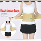 Breathable Lumbar Lower Back Support Belt Brace Pull Strap Backache Pain Relief