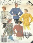 McCall's 2875 Misses' Blouse and Scarf 12, 14, 16 Sewing Pattern