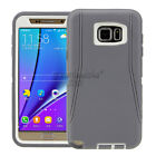 For Samsung Galaxy Note 5 Defender Case Rugged Shockproof w/ Belt Holster    <br/> 3 LAYER CASE SCREEN PROTECTOR BUILT IN HOLSTER INCLUDED