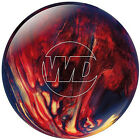 Columbia White Dot Bowling Ball Scarlet/Gold/Black