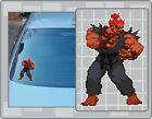 AKUMA Sprite Vinyl Decal #1 from Street Fighter PICK A SIZE! Car Laptop Sticker