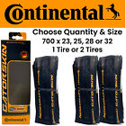 Kyпить 1 or 2 PACK Continental Gatorskin 700 x 23 25 28 or 32 Road Bike Folding Tire на еВаy.соm