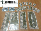 English Premier League 2005-2006 Arsenal Name Printing Letter Name Number Patch