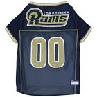 Los Angeles Rams NFL Dog Pet  Football Jersey (all sizes)