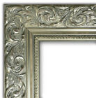 West Frames Ornate Embossed Wood Picture Frame Antique Silver 2.5""
