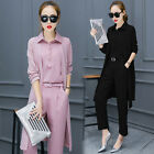 NEW! Fashion Casual shirt Shitsuke long sleeve pants fleece clothes three-piece