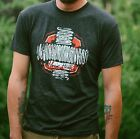 "Men's Charcoal Black ""Music Heals"" T-Shirt"