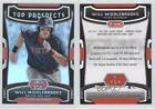 2012 Bowman Platinum Top Prospects #TP-WMK Will Middlebrooks Boston Red Sox Card