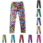 NEW Fashion Toddler Baby Kids Fish Scale Pattern Trousers Leggings Party Pants