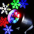 Colorful Romantic Christmas Snowflake Projection Lamp Laser LED Xmas Decoration