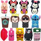 3D Cute Cartoon Soft Silicone Phone Case Cover for Various Samsung Galaxy Phone