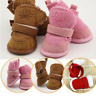 Winter Small Dogg Boots Anti-Slip Puppy Shoes Pet Protective Warm Snow Booties