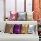 Super Shine Small Sequins Decorative Throw Pillow Case Cushion Covers US Stock