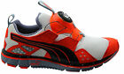 Puma Disc Ltwt 2.0 Lightweight Mens Trainers White Red Slip On 186701 04 D13