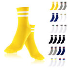 Soft Sock New Men Casual Cotton Strip Baseball Football Ankle Mid Socks
