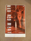 Red Red Meat Band Music Promo Poster Naked Girl Truck Gynis Rutili Deck