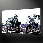 THE EASY RIDER MOVIE CONTEMPORARY CANVAS PRINT POP ART READY TO HANG