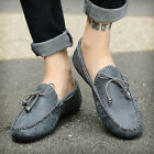 Men's Driving Shoes PU Lightweight Slip-on Loafer Moccasins Soft Casual Shoes