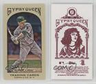 2011 Topps Gypsy Queen Mini Red Back #239 Josh Willingham Oakland Athletics Card