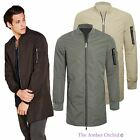 NEW MENS ZIPPED RIBBED DETAIL POLY MAC CONTRAST JACKET SIZES S - XL