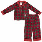 New Christmas Plaid Girls' Red and Green Pajamas