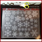 Frost Snowflakes Christmas Holiday Vinyl Decal Sticker for walls, glass window