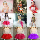 Casual Toddler Baby Kids Girls Clothes Party Wedding Pageant Princess Tutu Dress