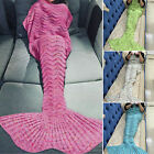 2016 Mermaid Tail Blanket Warm Super Soft Blankets For Teen Adult Bedding Wrap