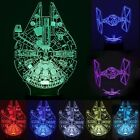 3D illusion Star Wars Death Star Night LED 7 color change desk table lamp light
