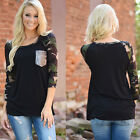 New Women Casual Tops Loose T-Shirt Fashion Long Sleeve Fashion Blouse Pullover