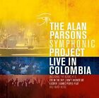 THE ALAN PARSONS SYMPHONIC PROJECT - LIVE IN COLOMBIA  3 VINYL LP NEW+