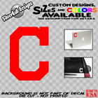 Cleveland Indians Baseball Custom C Vinyl Decal Sticker Car Window Truck Bumper on Ebay