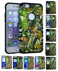 HUNTING CAMO MOSSY Hybrid Slim Silicone Soft Hard Cover Case for Cell Phone 10
