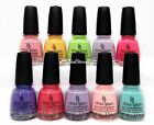 China Glaze Nail Lacquer - CITY OF FLOURISH Collection - Choose Any Color