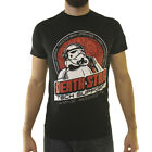 Star Wars Stormtrooper Death Star IT Men's Black T-shirt NEW Sizes S-3XL $10.99 USD