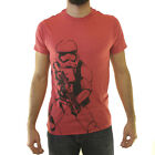 Star Wars Stormtrooper Sketch Men's Red T-shirt NEW Sizes S-2XL $10.99 USD