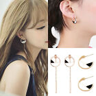 New Women Vintage Simple Geometric Jewelry Long Tassel Jewelry Gift Earrings