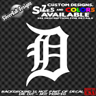 Old English D Custom Vinyl Decal Sticker Car Window Truck Bumper Detroit Tigers on Ebay