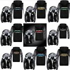 Football Team Mens Winter Jacket Sweatshirts Thicken Fleece Hoodie Zipper Coat