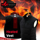 Heated Vest Hotbody Smart Microfiber 3-Step Temperature Controller Built-In Vest