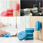5pcs Washing Cleaning Dish Cloth Wipe Brush Sponge Scouring Gadget Kitchen Tools