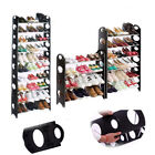 4/6/8/10 Tiers Shoe Rack Shelf Storage Stand Organiser Hold f/ 12/18/30/50 Pairs