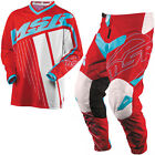 NEW MSR RACING AXXIS RED TEAL WHITE ADULT RACE GEAR COMBO JERSEY PANTS MX